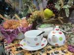 chá da tarde Dona Sinhá
